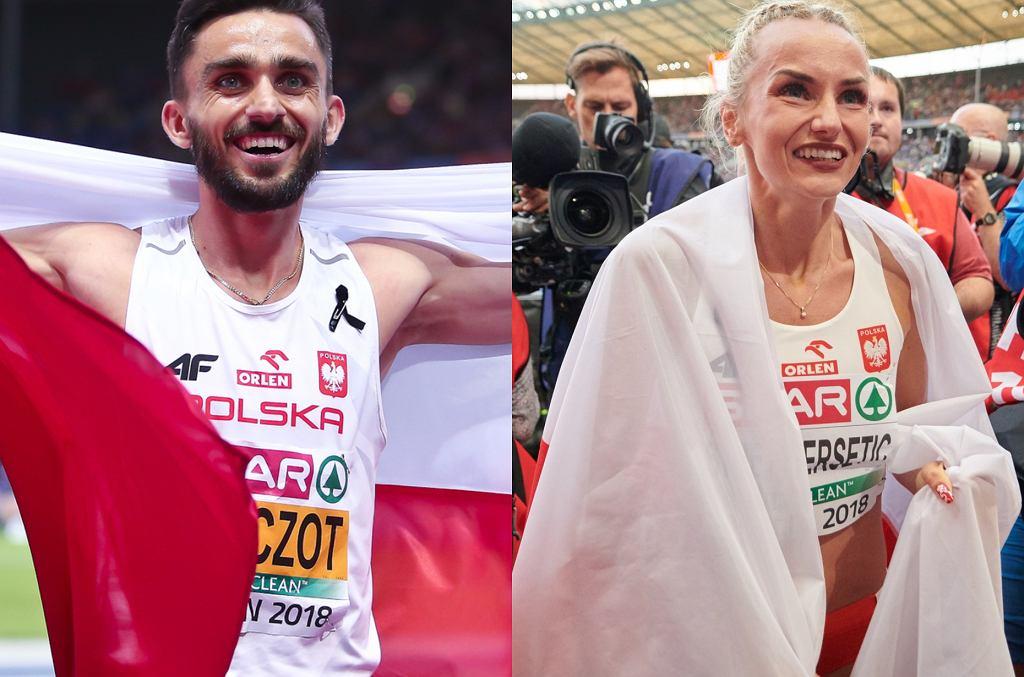 Justyna Święty-Ersetic, Adam Kszczot