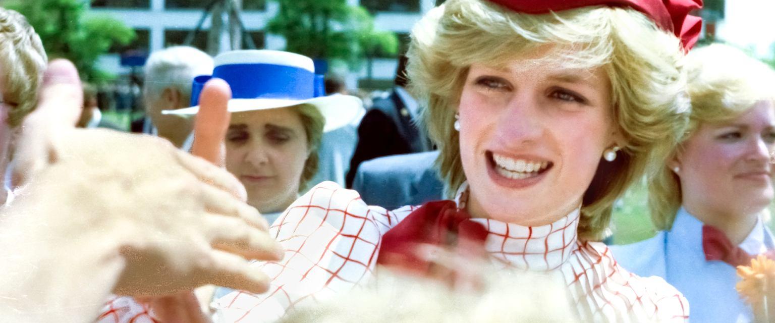 Księżna Diana podczas wizyty w Halifaksie w Nowej Szkocji, czerwiec 1983 (fot. Russ Quinlan / CC BY-SA 2.0)