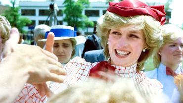 Księżna Diana podczas wizyty w Halifaksie w Nowej Szkocji, czerwiec 1983