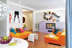 Najpiękniejsze salony z polskich mieszkań