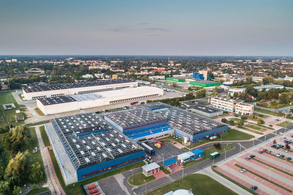 Strefa przemysłowa w Grodzisku Mazowieckim