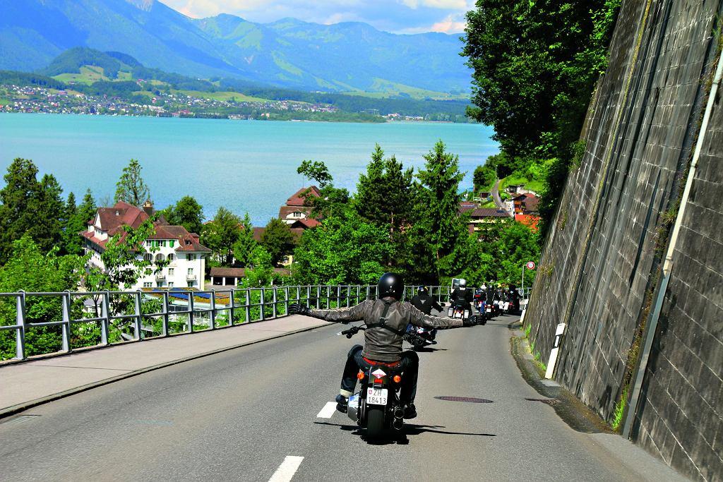 Szwajcaria i Harley-Davidson - połączenie idealne!