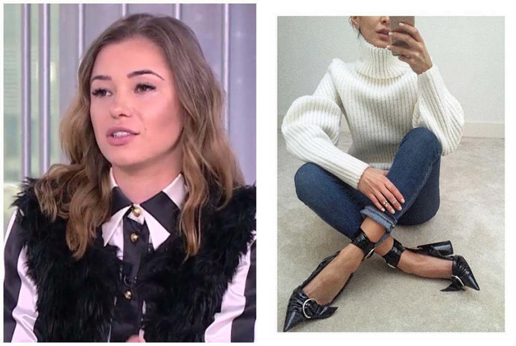 Dyskusja o butach Sary Boruc-Mannei w TVN