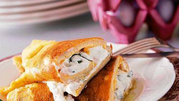 Omlet z twarożkiem