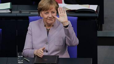 Angela Merkel, kanclerz Niemiec - największej gospodarki strefy euro