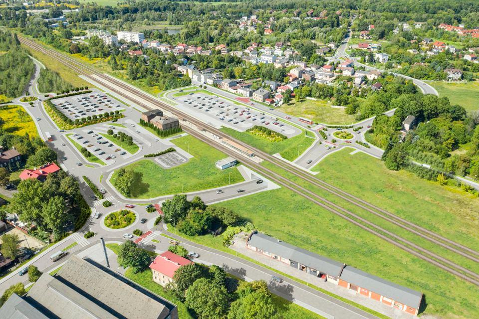 Tak ma wyglądać okolica dworca kolejowego w Dąbrowie Górniczej