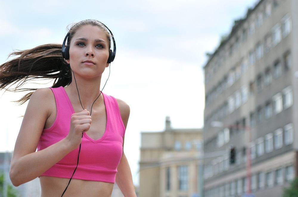 Muzyka do biegania.