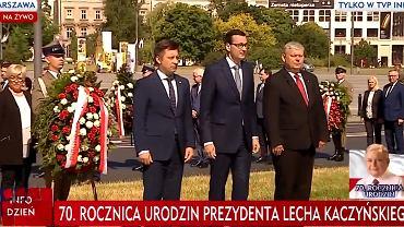 70. rocznica urodzin Lecha Kaczyńskiego