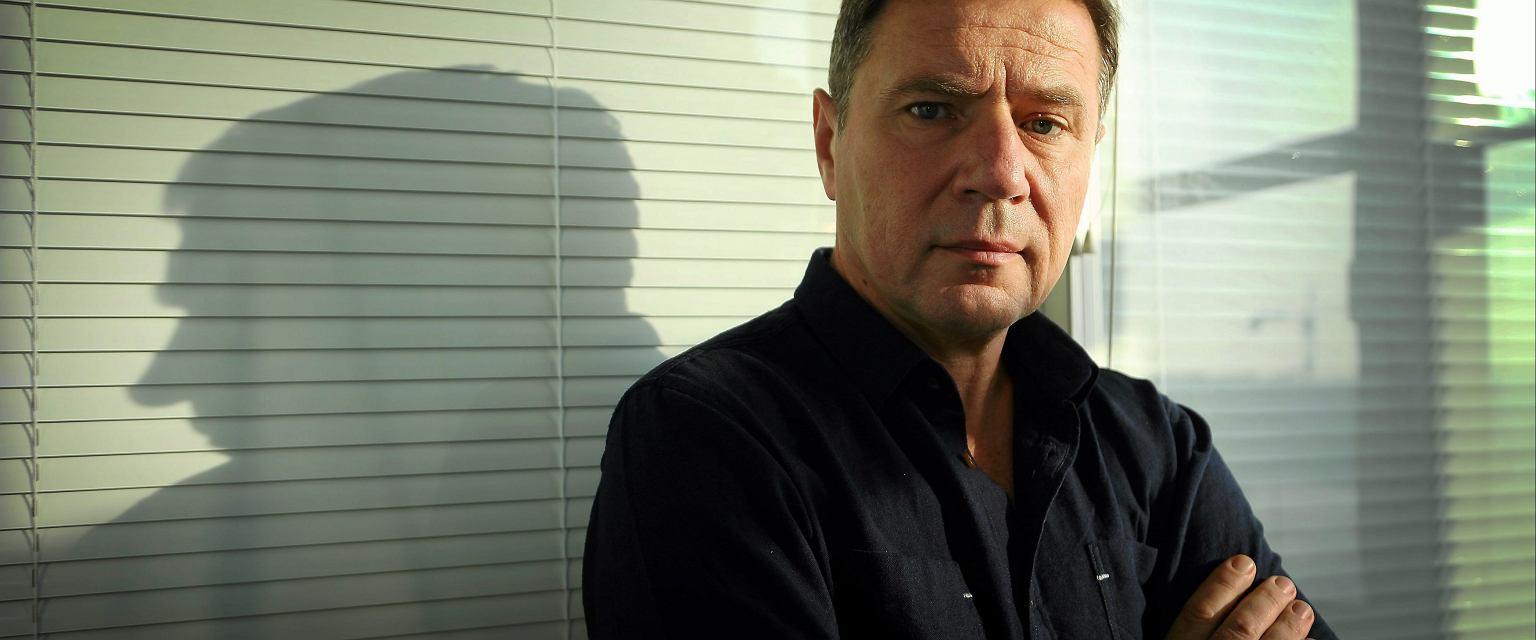 Bogusław Sałagan, emerytowany oficer CBŚ (Grzegorz Celejewski / Agencja Gazeta)