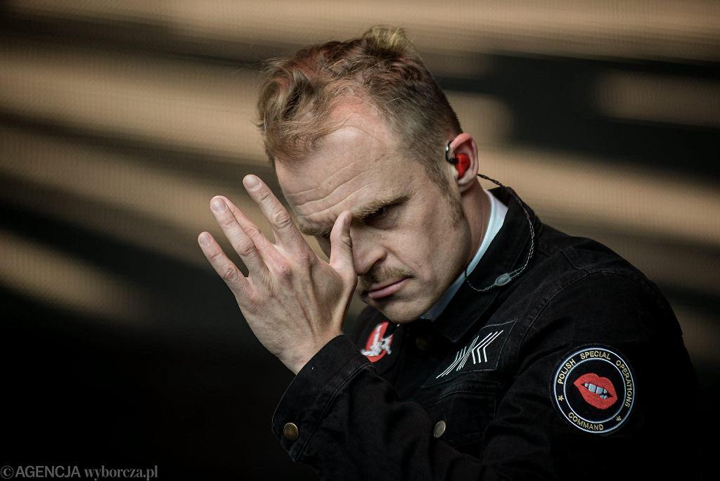 Piotr Rogucki, lider zespołu Coma