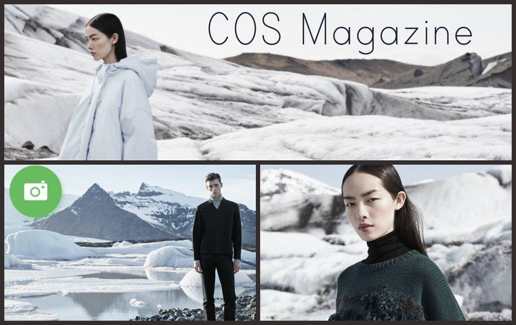 Kolekcja COS w miesięczniku COS Magazine