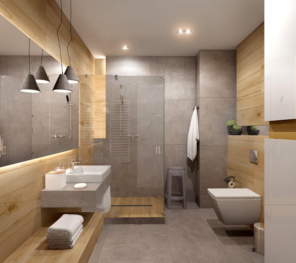 Czysta przestrzeń w łazience