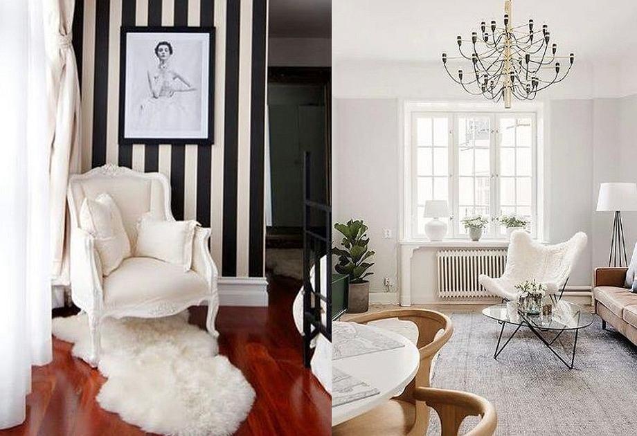 Futrzane meble i dekoracje do domu