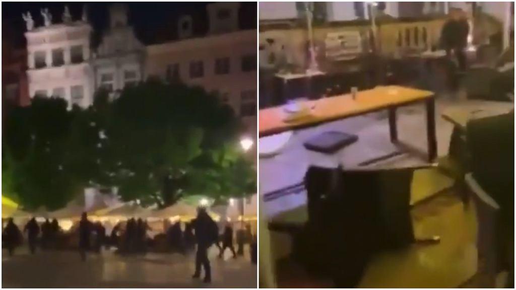 Atak na kibiców Manchesteru United na Długim Targu w Gdańsku