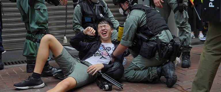 Nowe prawo o bezpieczeństwie w Hongkongu. Ponad 300 aresztowanych