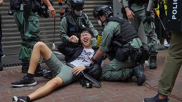 Hongkong. Protest przeciwko nowemu prawu