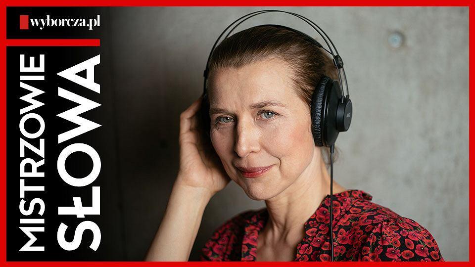 Katarzyna Herman w trzynastym odcinku podcastu 'Mistrzowie Słowa' czyta reportaż Magdaleny Grzebałkowskiej 'Willi, jestem zmęczona jak pies'