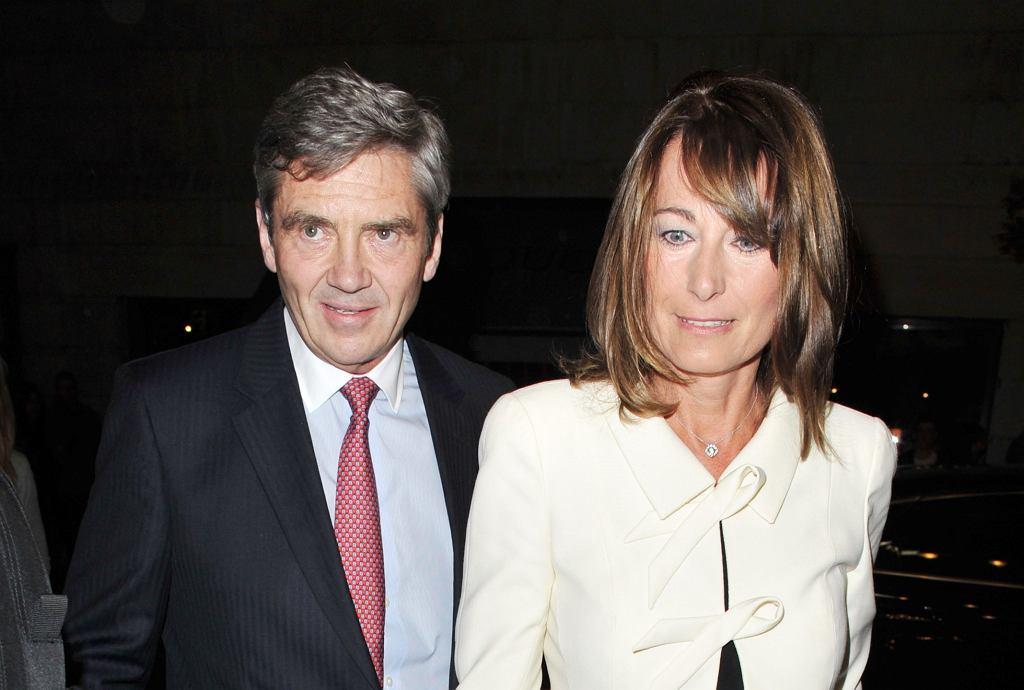 Michael i Carole Middletonowie
