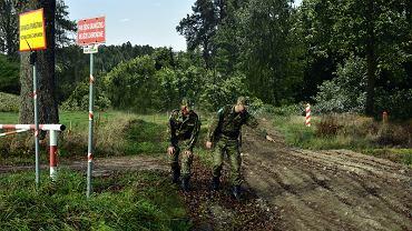Patrol Straży Granicznej w Węgorzewie