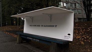 Ławki tworzące schronienie dla bezdomnych