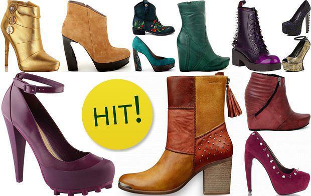 Najciekawsze buty w najmodniejszych kolorach