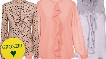Eleganckie bluzki i koszule do pracy