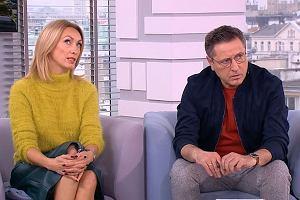 Anna Kalczyńska i Andrzej Sołtysik w 'Dzień dobry TVN'