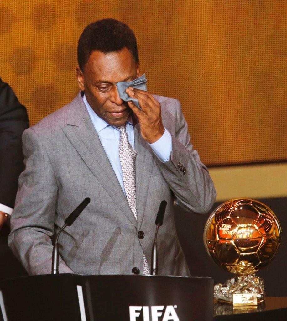 Pele otrzymał pierwszą w historii