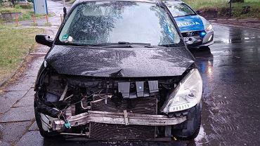 Kierowca uciekał po kolizji. Miał ponad 3 promile alkoholu