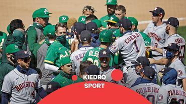 Bójka zawodników Houston Astros i Oakland Athletics