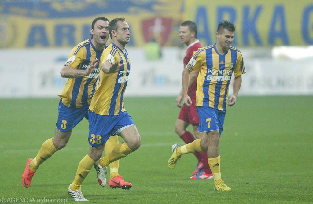Arka Gdynia pokonała Chojniczankę