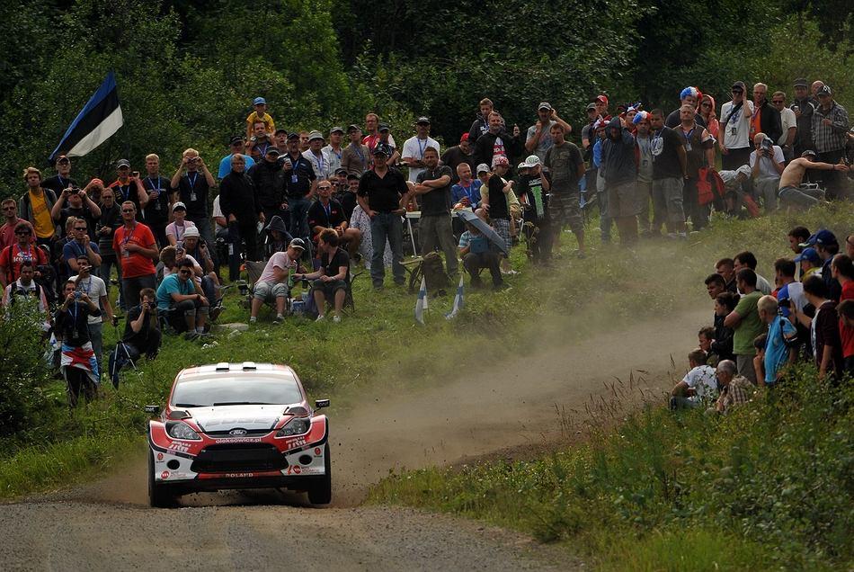 Maciej Oleksowicz czysto dojechał do mety Neste Oil Rally Finland i uplasował się na 4. pozycji w klasyfikacji SWRC