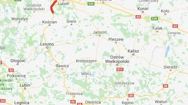 Odcinek Poznań - Wronczyn - część drogi S5 Poznań - Wrocław