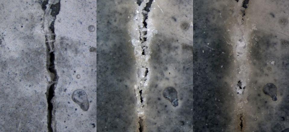 'Samoleczący się' beton