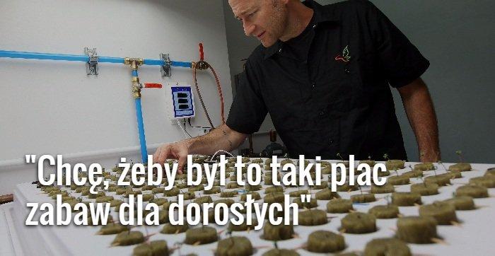 Budowa ośrodka rekreacyjnego dla palaczy marihuany