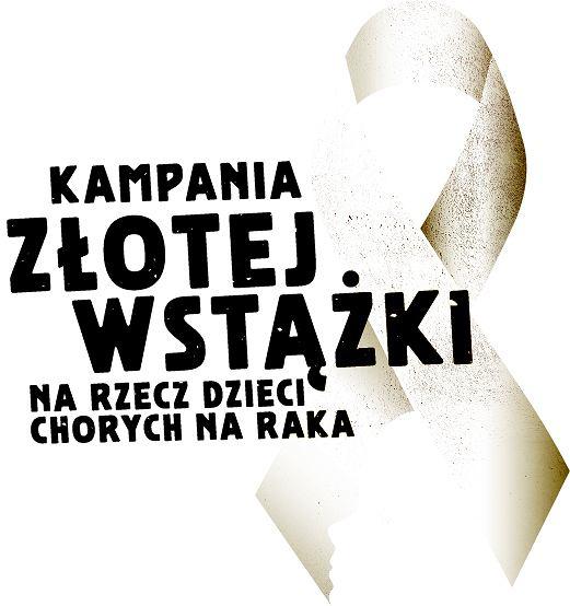 Logo kampanii Złota Wstążka