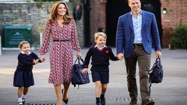 Książę George chce być jak William