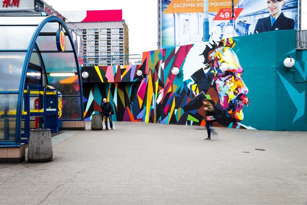 Nowy mural na