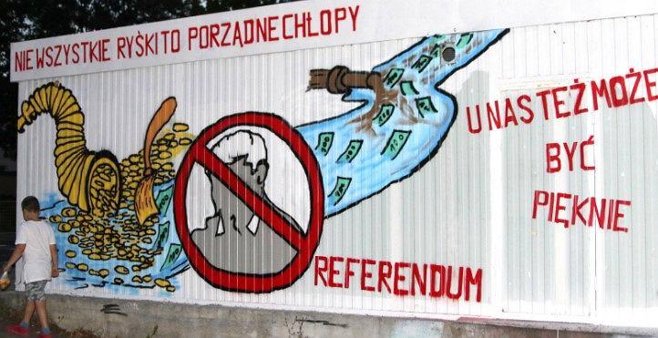 Mural w Torzymiu, wrzesień 2020 r.