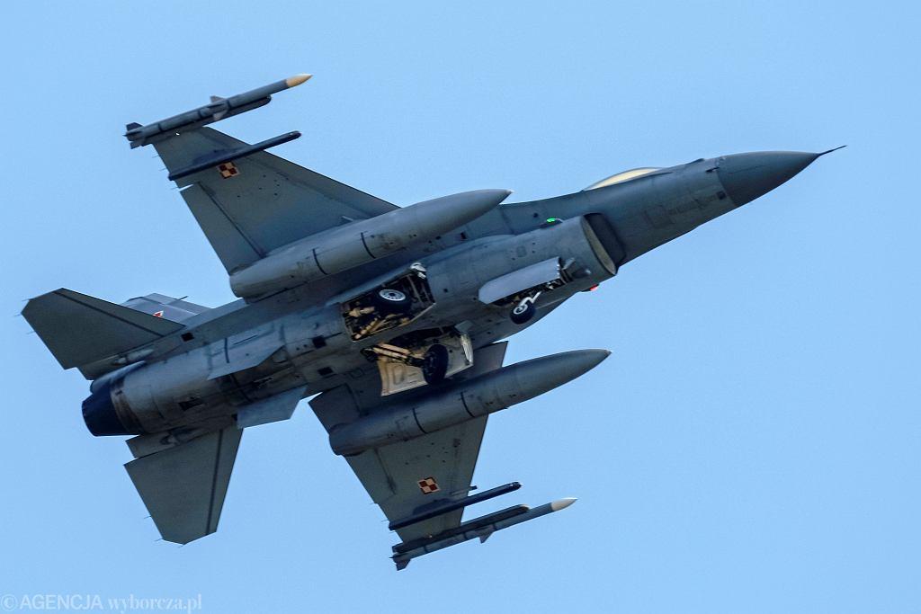 Samolot F-16 (zdjęcie ilustracyjne)