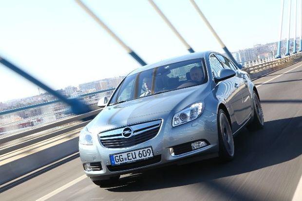 Opel Insignia 2.0 BiTurbo - test   Pierwsza jazda