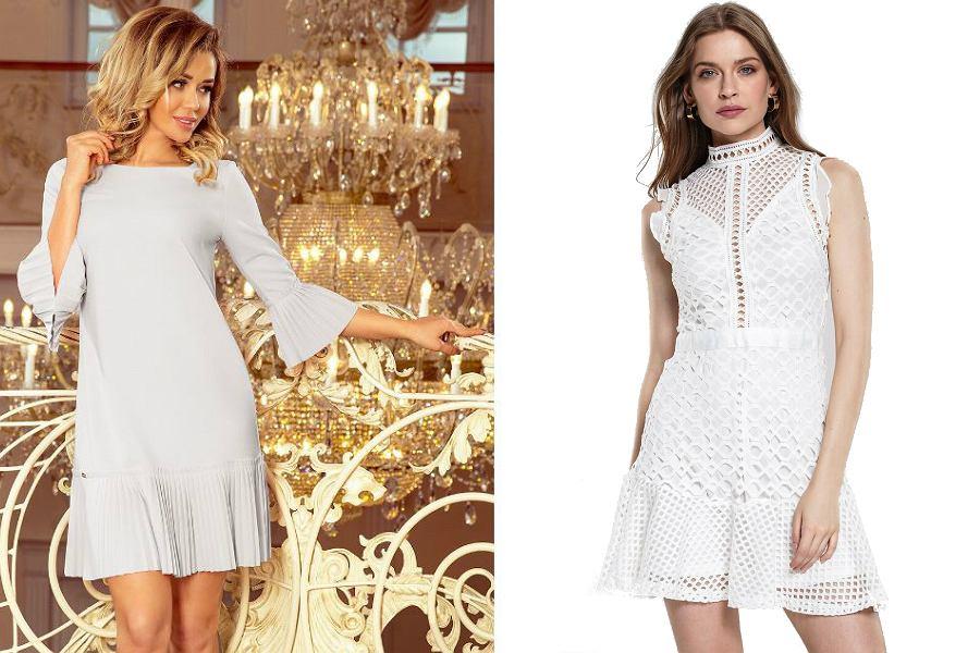 Biała sukienka na andrzejki