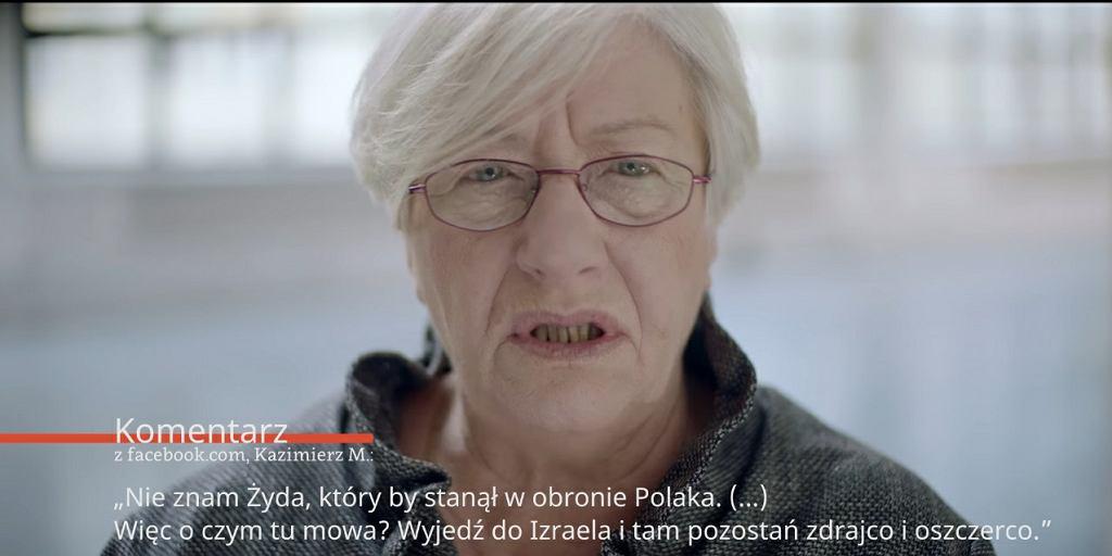 Film Muzeum POLIN o współczesnym antysemickim hejcie