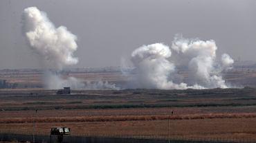 Ofensywa wojskowa Turcji na Syrię. Zdjęcie wykonane 10.10.2019