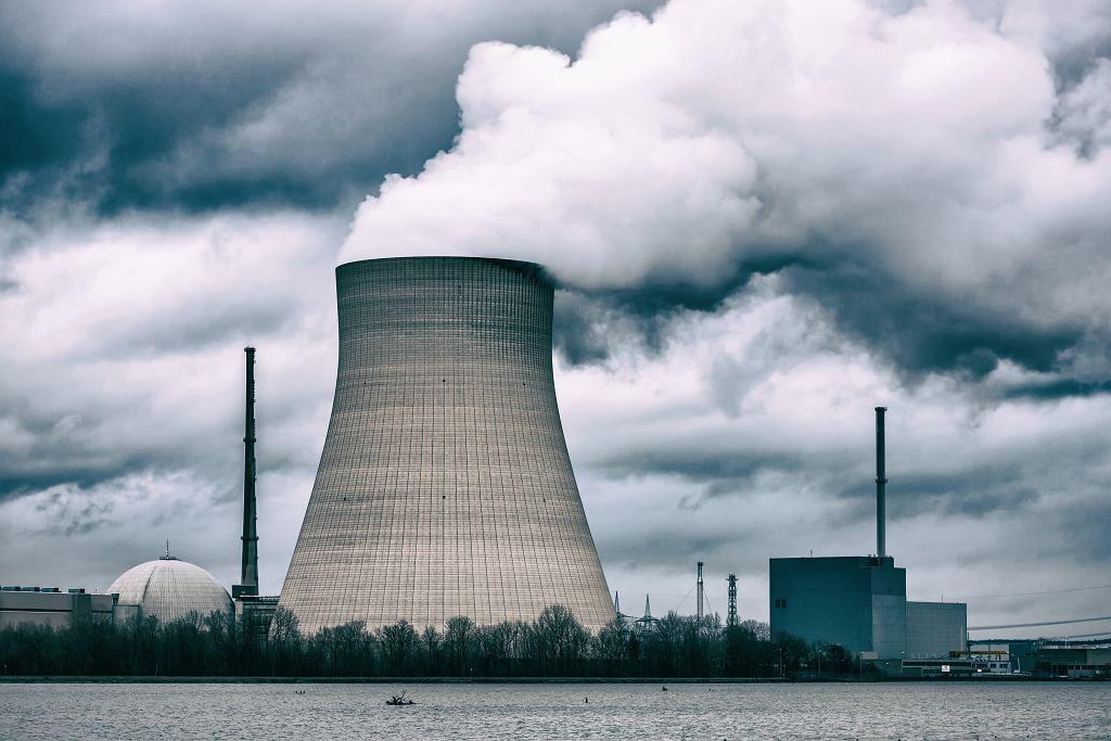 Niemcy. Elektrownia jądrowa, zdjęcie ilustracyjne