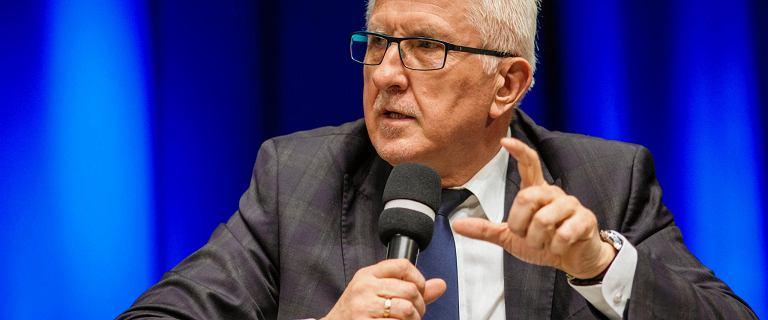 Wadim Tyszkiewicz oświadczył, że jest gotów złożyć mandat senatora