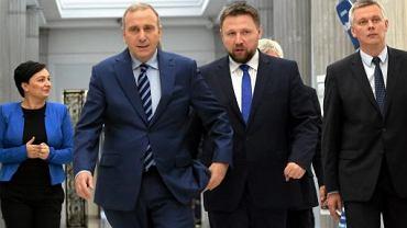 Grzegorz Schetyna, Marcin Kierwiński, Tomasz Siemoniak w Sejmie