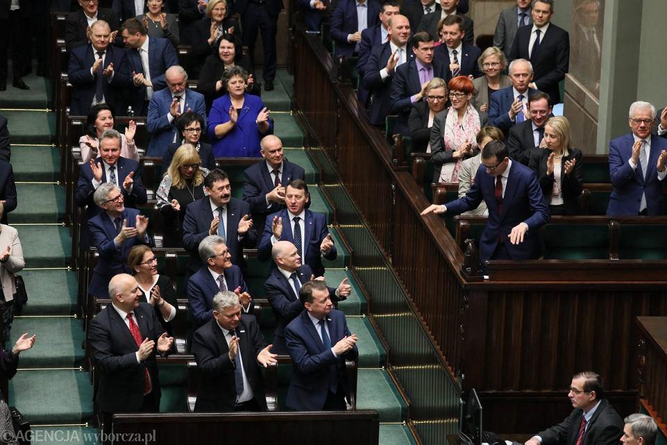 Debata nad wnioskiem opozycji o wotum nieufności dla rządu Mateusza Morawieckiego