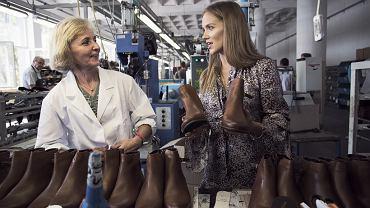 Agnieszka Kaczorowska w kampanii Wojas opowiada o procesie produkcji obuwia polskiej marki
