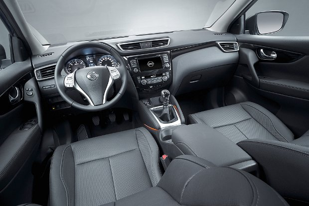 Nissan Qashqai wnętrze
